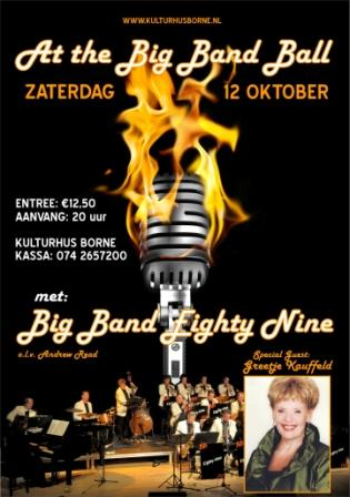 Big Band Ball 2013 met Greetje Kauffeld