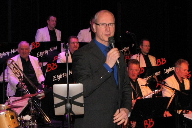 Martin ter Haar van Big Band Eighty-Nine